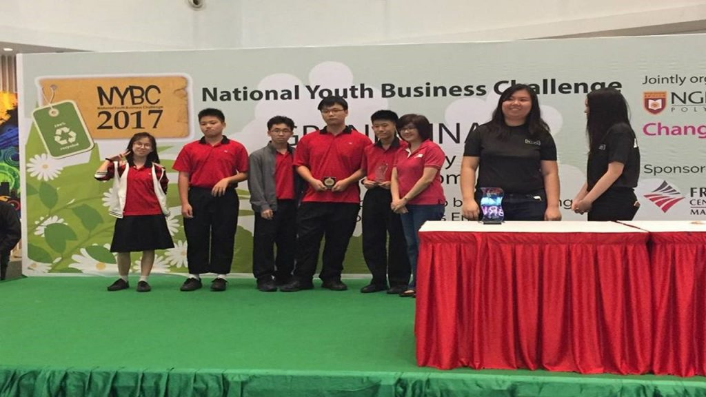 Our beaming winners at the National Youth Business Challenge 2017