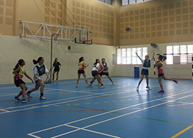 Our team fought hard in the 2014 West Zone Netball Tournament