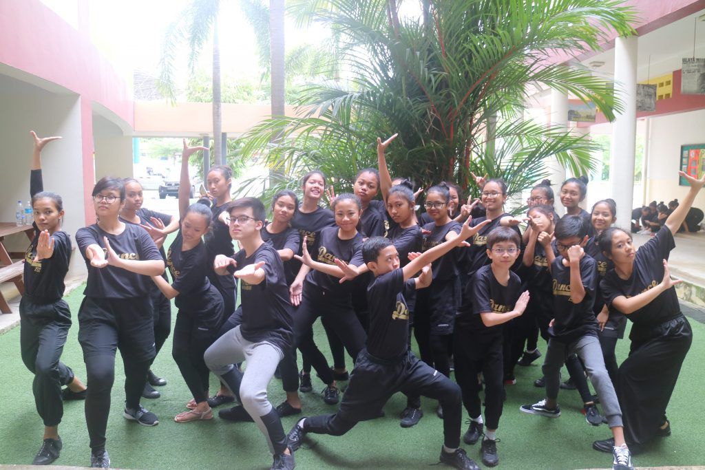 The Malay Contemporary SYF Team at the Dance Exchange Programme 2017