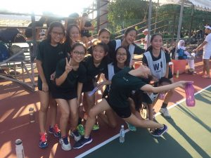 B Div at Kallang Netball Singapore for Netops Carnival