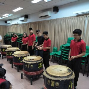 Interactive Chinese drumming session with our percussion ensemble