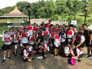 Learning and having fun together at the MacRitchie Reservoir!